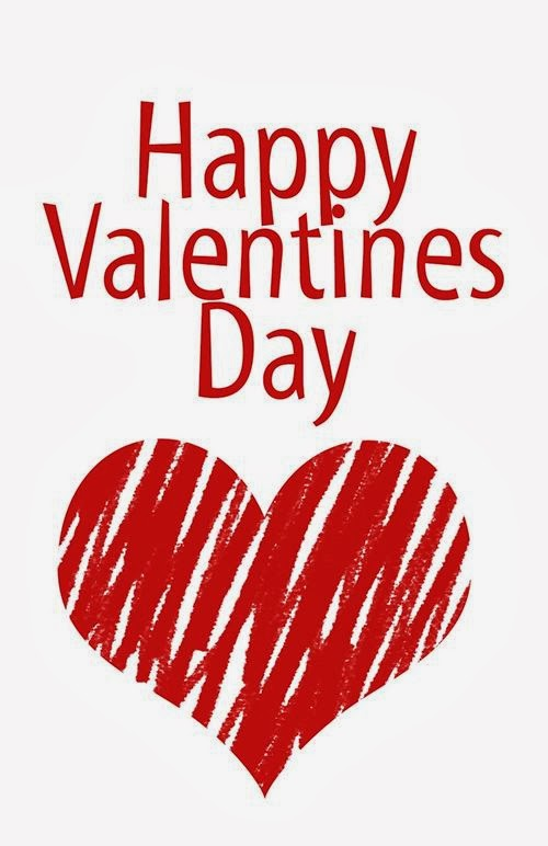 Beautiful Clip Art Happy Valentine's Day Cards 2014
