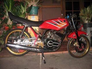 Modif Warna Motor Rx King