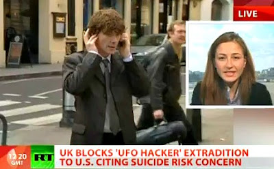 UK Blocks 'UFO-Hacker' McKinnon Extradition to US