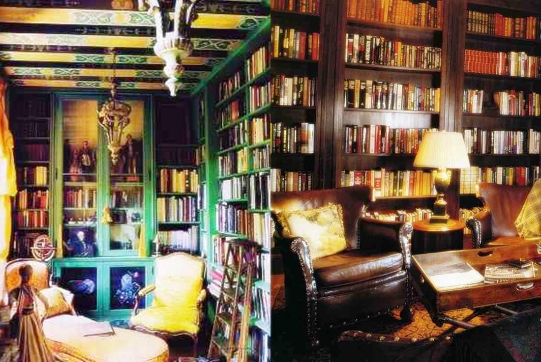 Klasyczne biblioteki domowe