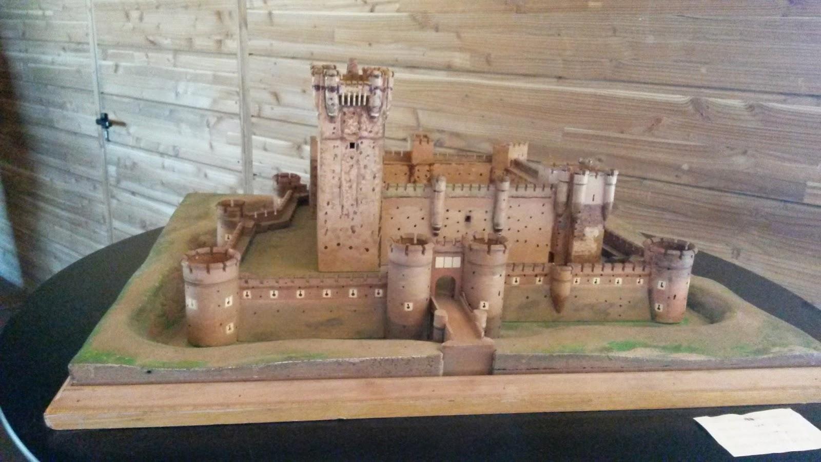 Maqueta del Castillo de La Mota