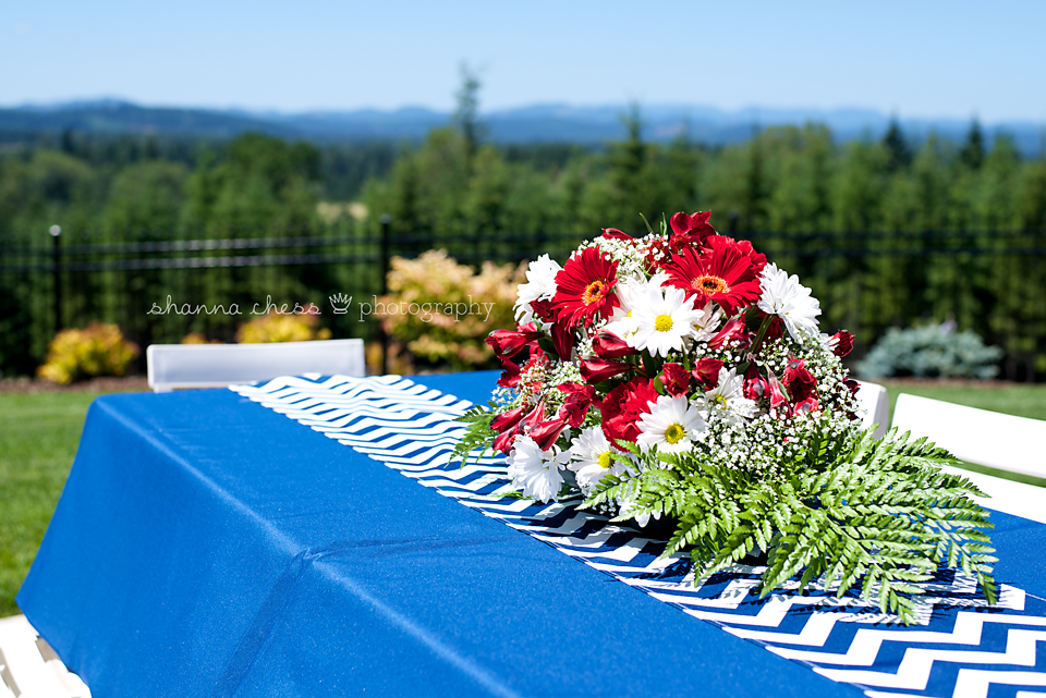 Eugene Springfield Event Photography centerpieces