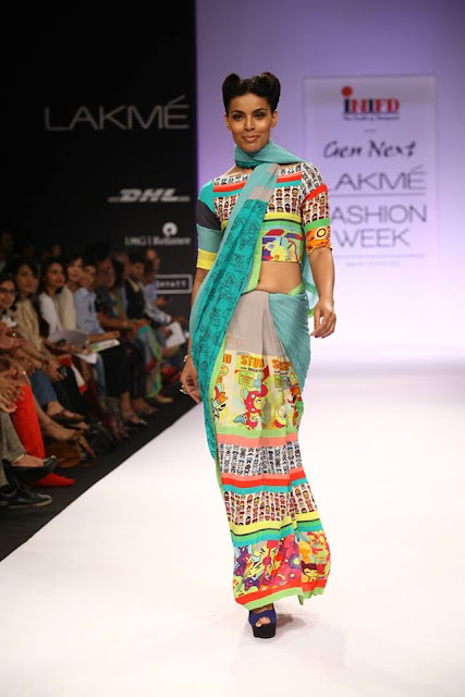 Day 1:  INIFD presents Gen Next Show LFW Winter/Festive 2013 : Quirk Box image
