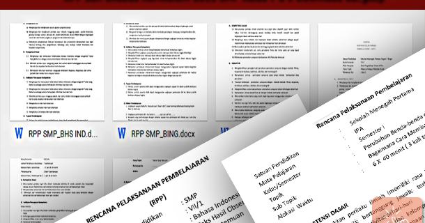 Rpp Dan Silabus Kurikulum 2013 Smp Kelas 7 8 9 Sisi Edukasi