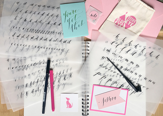 Birdie To Be Calligraphy Class