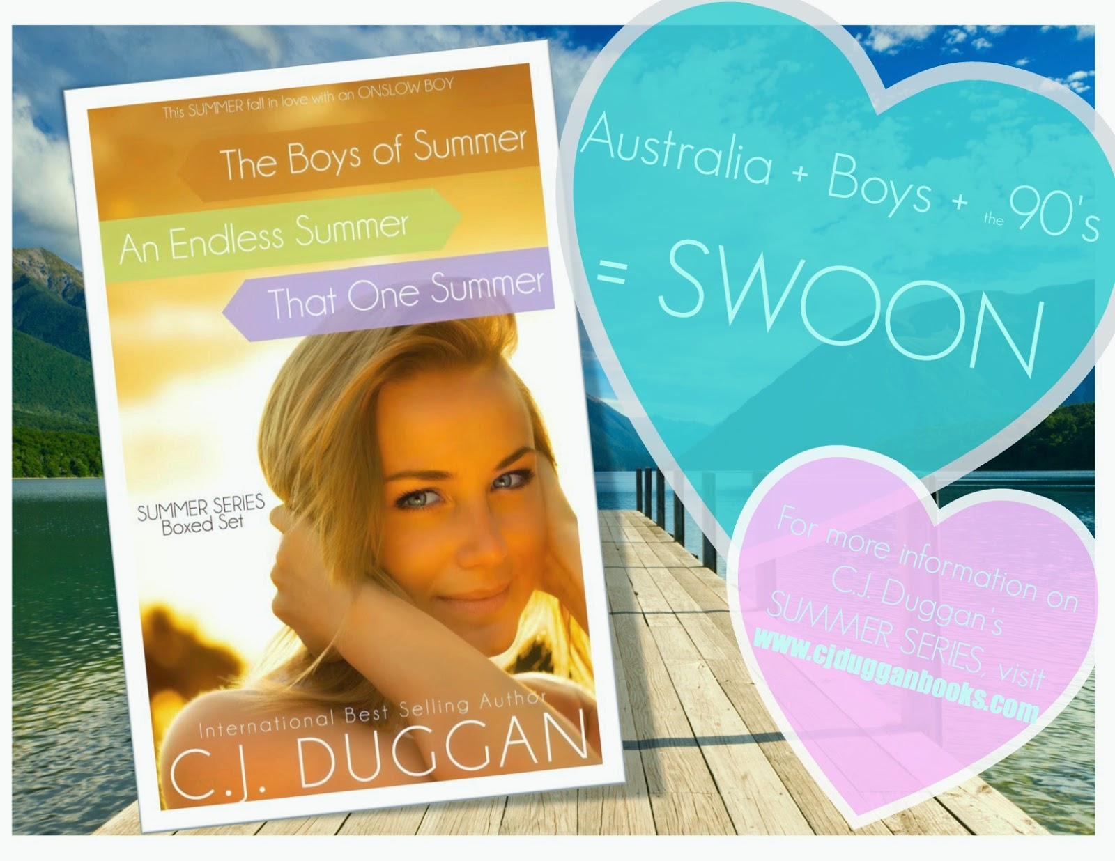 Summer Series Boxed Set Sales Promo #2