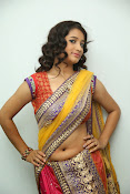 santoshini sharma photos in half saree-thumbnail-1