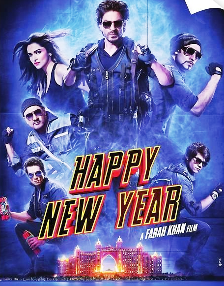 Download Happy New Year (2014) - DVDSCR Full Movie