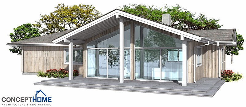 affordable home plans modern house plan ch146