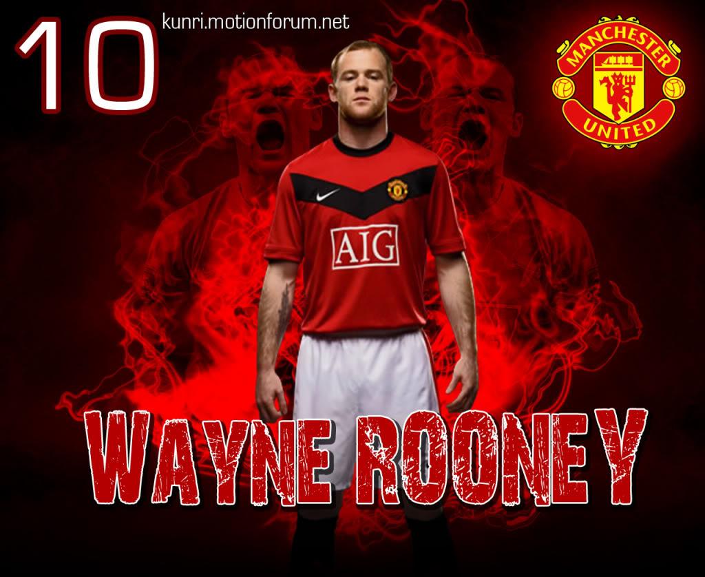 Wayne Rooney 10 Fergie sedia berdamai dengan Rooney