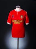 1992-93 Wrexham Home Shirt
