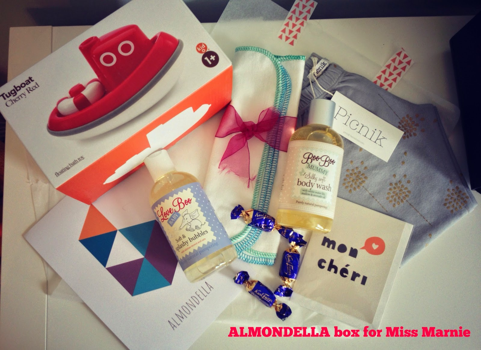 Brand New Baby Gift Ideas : The perfect new baby gift delivered by almondella v i