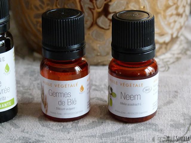 huiles végétales Aroma Zone bio