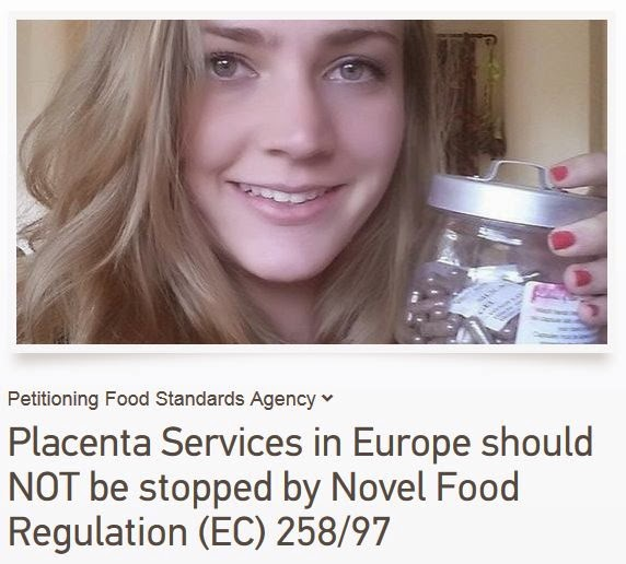 Help SAVE Placenta encapsulation services being banned by FSA