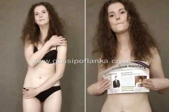 Gossip Lanka, Hiru Gossip, Lanka C News - Czech Republic Politician strips off for controversial video in protest against soaring government taxes
