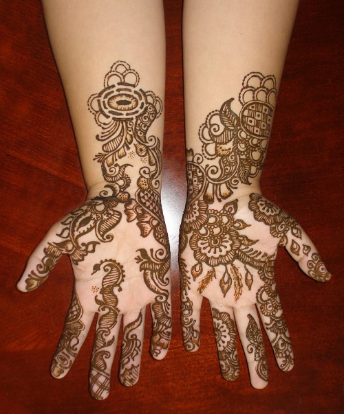 Mehndi Designs for kids Easy Hands 2013 to do and eid to ...