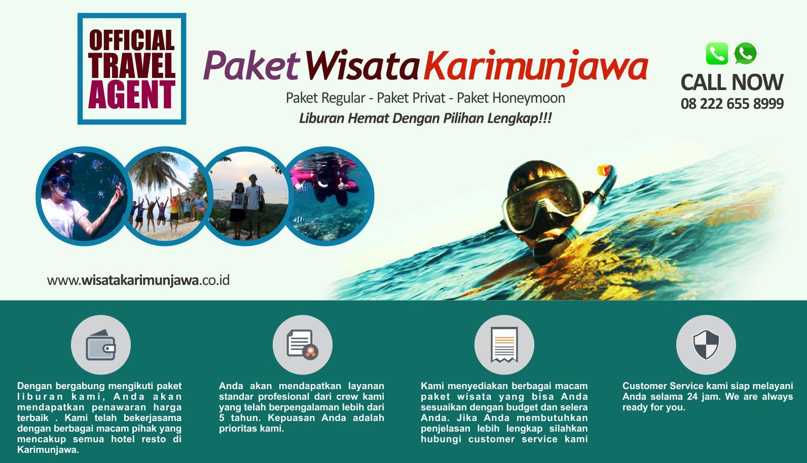 Wisata Karimunjawa Tour - Paket Karimun Jawa Murah