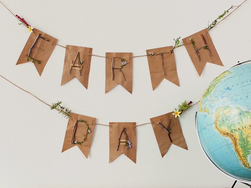 How to make an earth day banner