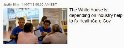 http://thehill.com/blogs/healthwatch/health-reform-implementation/189516-insurers-go-from-scapegoat-to-savior-in