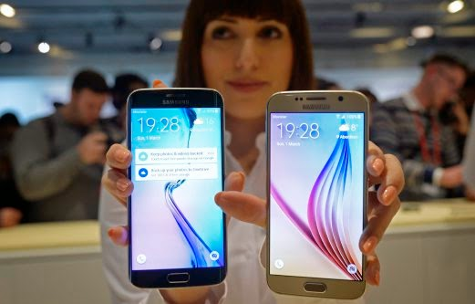Samsung perkenal model terkini Galaxy S6, S6 Edge