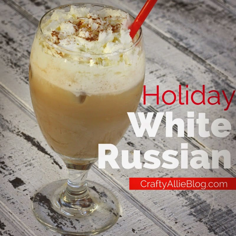 Holiday White Russian, shared by Crafty Allie