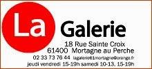 Exposition personnelle à LA GALERIE Mortagne au Perche (61)