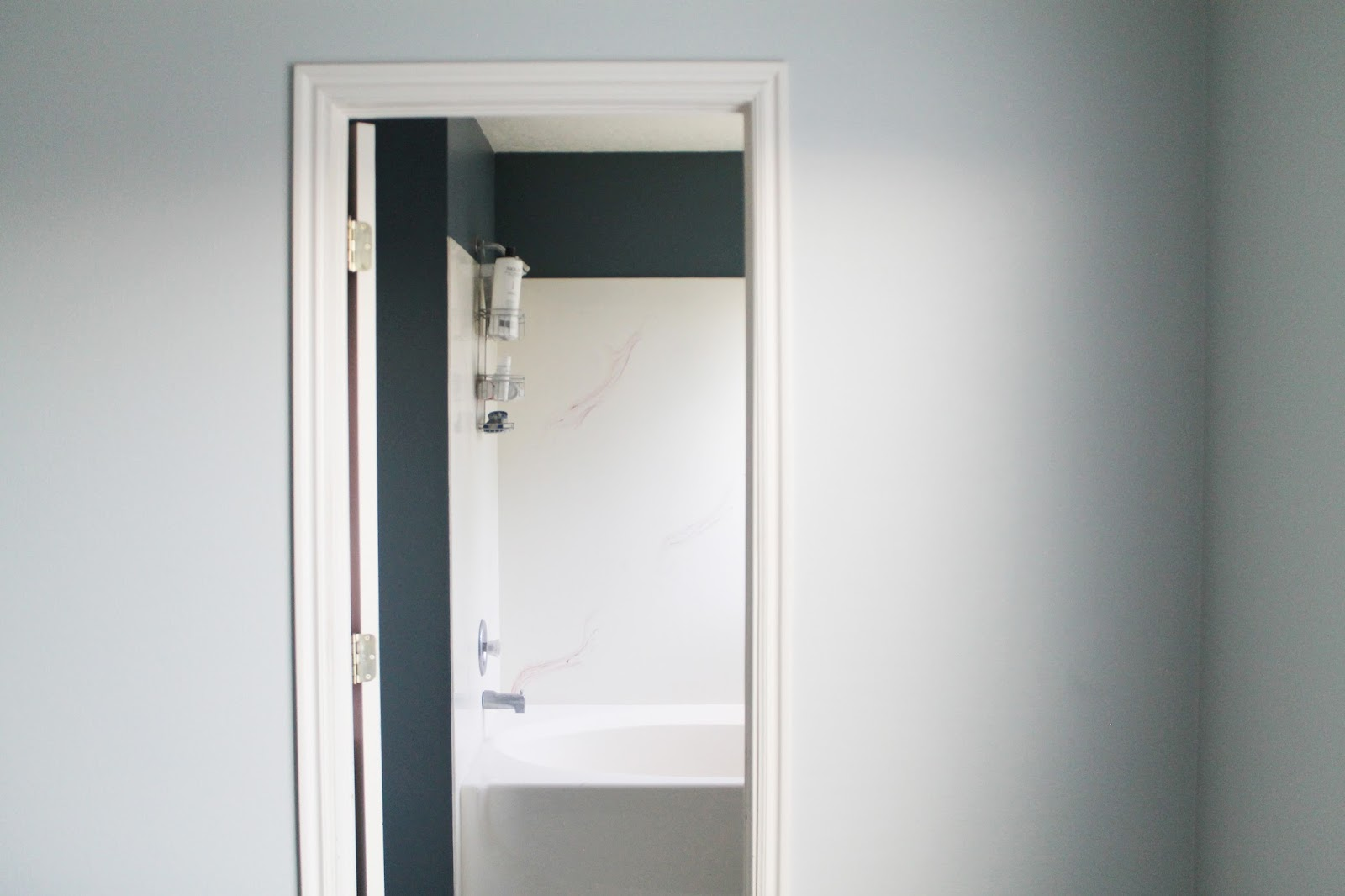 Master Bath Reno: Paint Goes a Long Way | Chris Loves Julia
