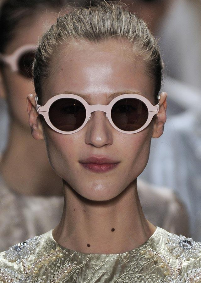 Mykita x Alexandre Herchcovitch sunglasses for SS 2012: Regina