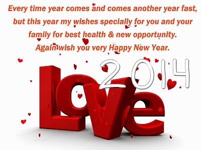 new impressive happy new year 2014 love sms in hindi