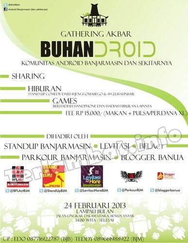 Gathering Akbar Android Banjarmasin Blogger Banua 2013