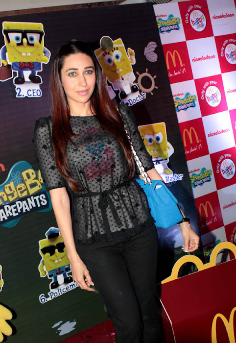 karisma kapoor launches spongebob squarepants happy meal unseen pics
