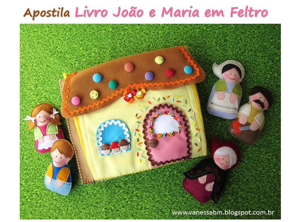 Apostila Livro João e Maria em Feltro