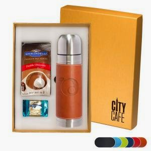 Gift Boxed Ghirardelli & Tuscany Thermos Set