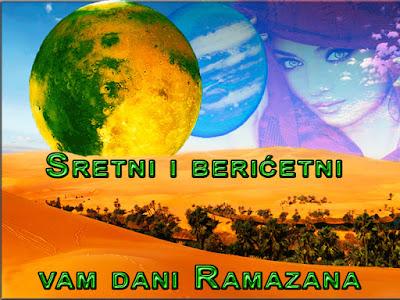 Sretni i berićetni vam dani Ramazana