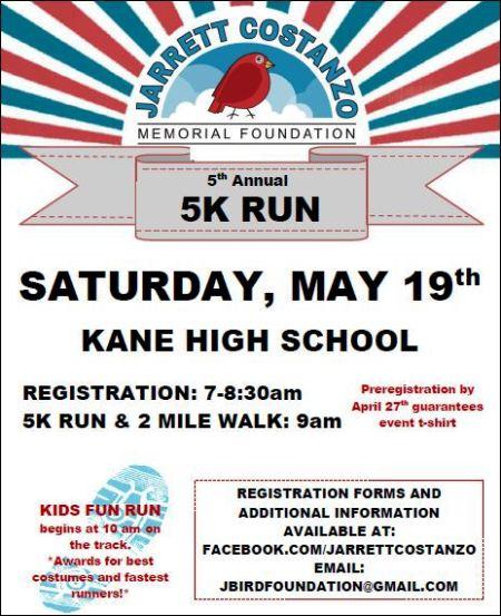 5-19 5K Run, Kane, PA