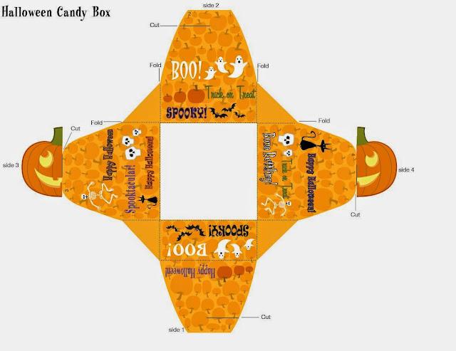 Halloween: Free Printable Boxes.