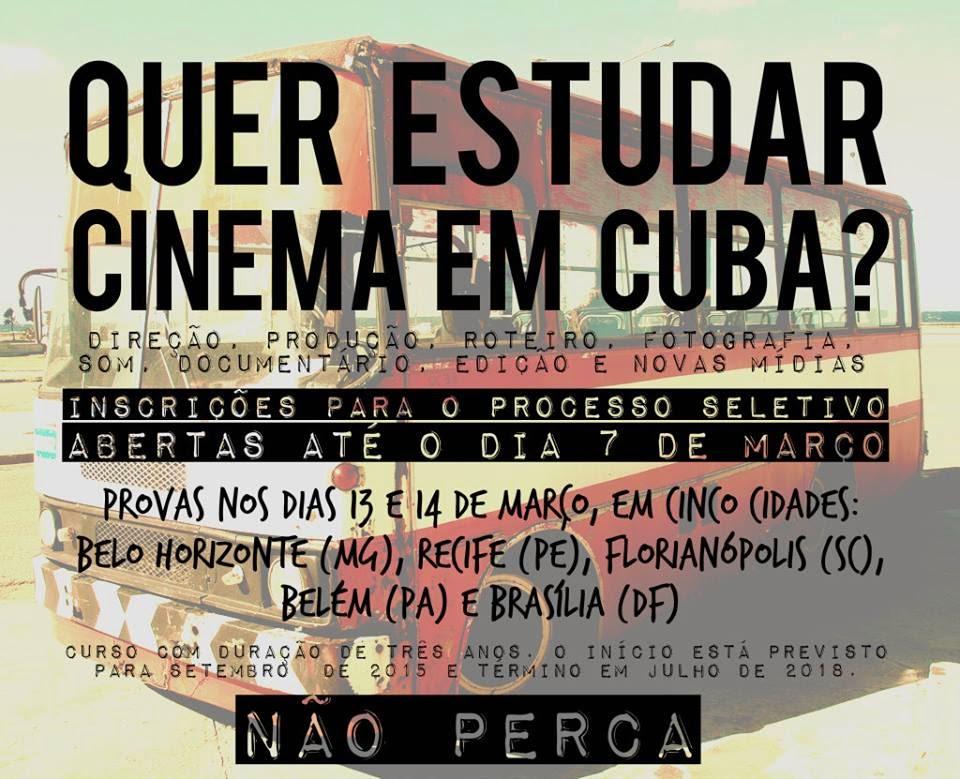 Estude cinema em Cuba