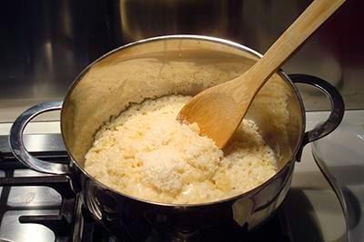 Polpettine di riso in brodo: quarto passaggio