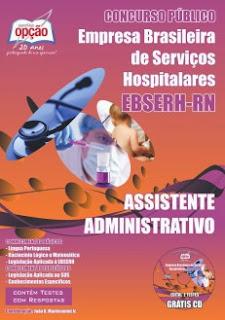 Concurso  EBSERH / HUOL / MEJC / HUAB / UFRN - RN 2013 - 2014 - Edital - Apostilas - Inscrição ...