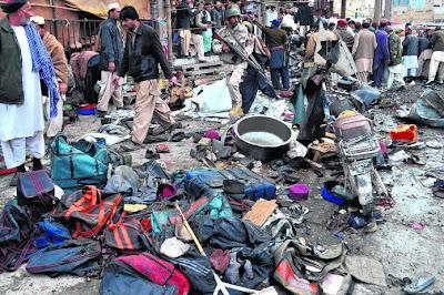 115 maut dalam beberapa serangan bom di Pakistan
