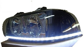 2 Farois Gol Saveiro Parati 95 96 97 98 99 Mod. Audi A8 Fita - R$ 800,00