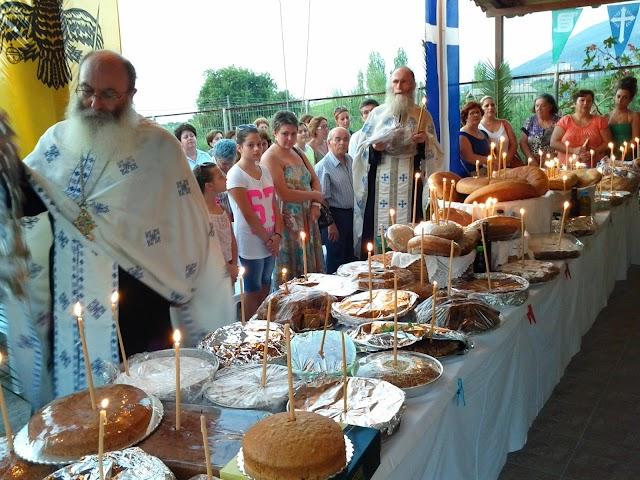 Τιμήθηκε με διπλάσιους επισκέπτες η εορτή Αγίου Φανουρίου στους Αρμενιούς