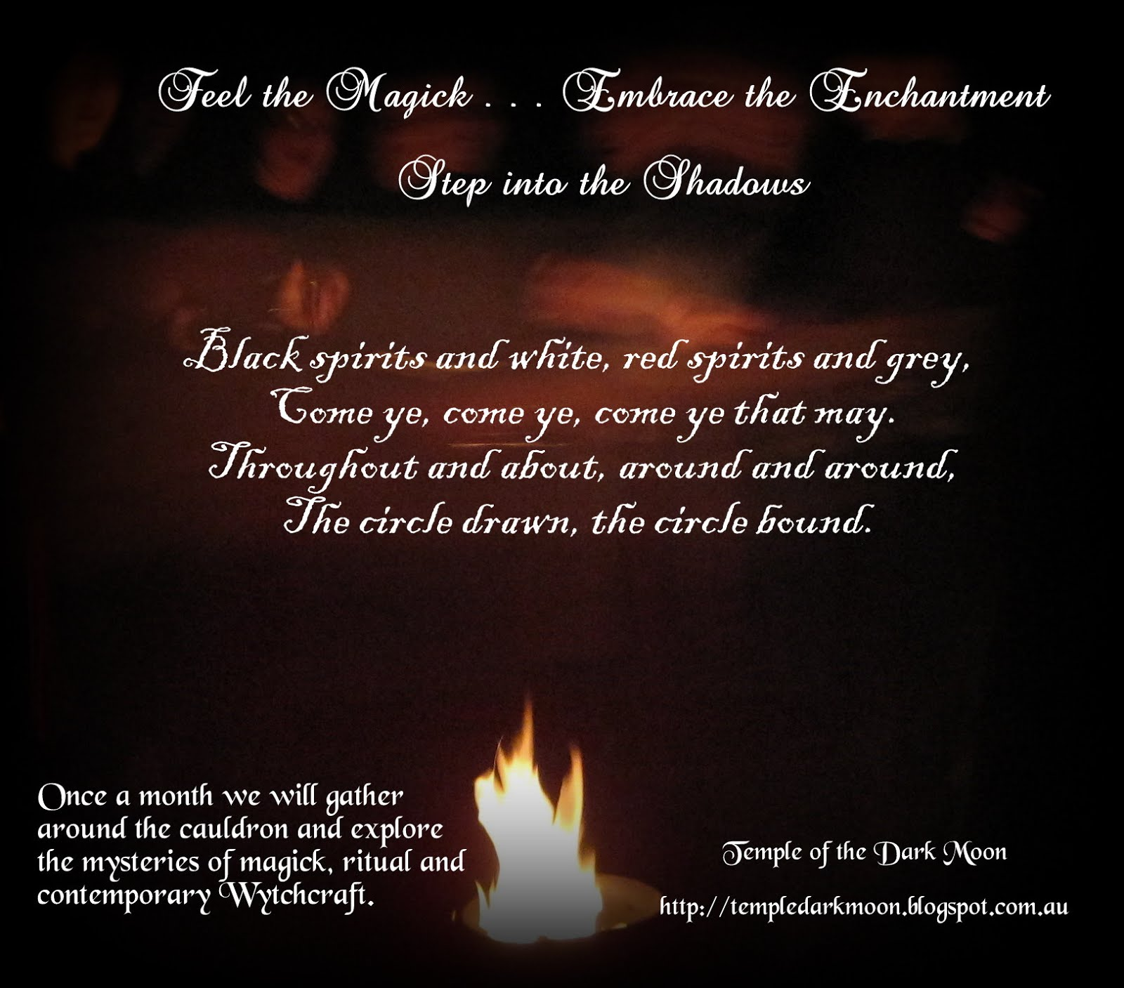 August: Open Magickal Groups