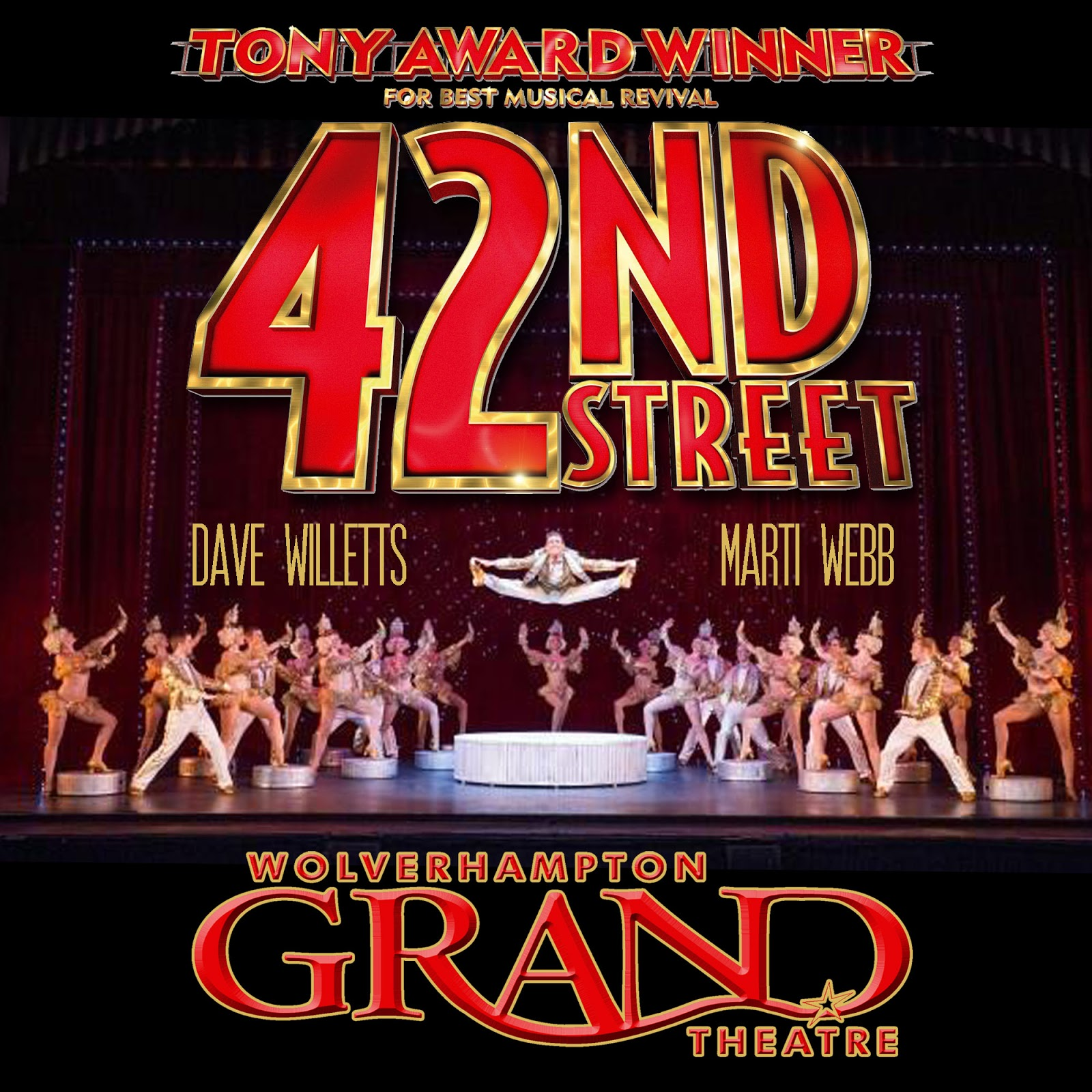 The Theatre Blog: 42ND STREET (UK Tour) October 2012