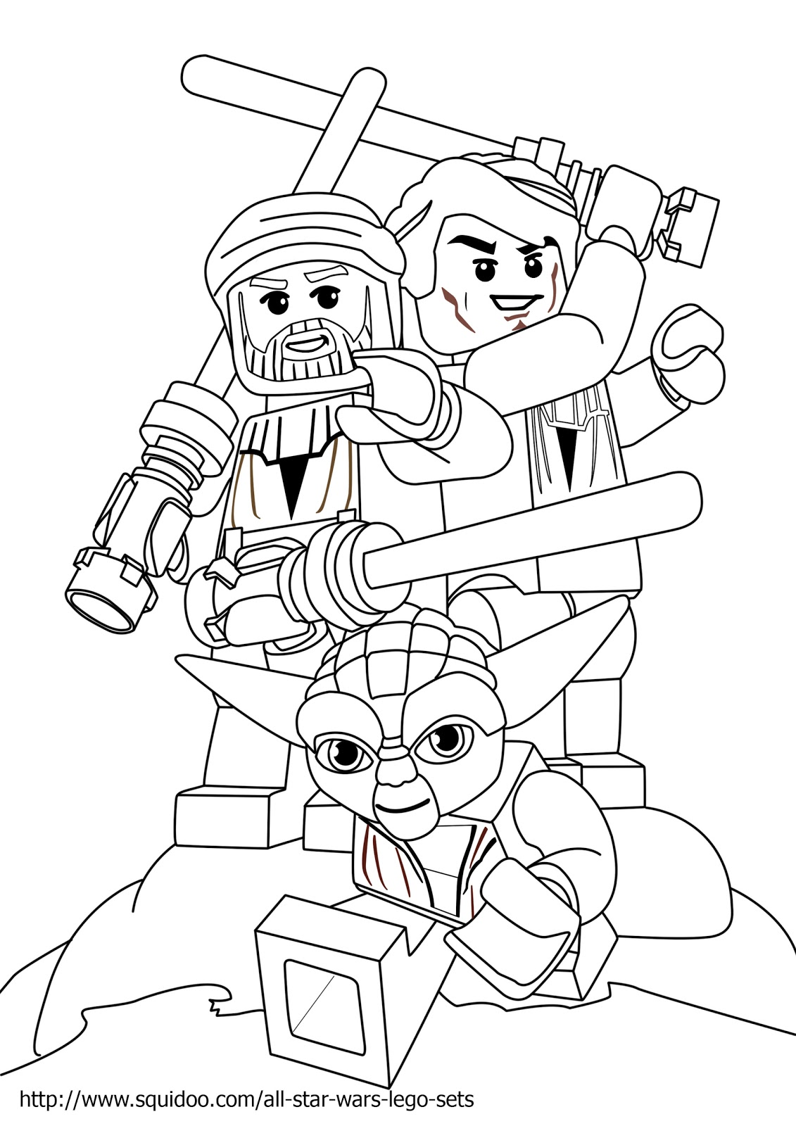 Lego army coloring sheets coloring pages for Star wars lego coloring page
