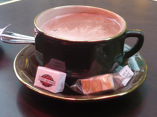 Belgian Style Homemade Hot-Chocolate