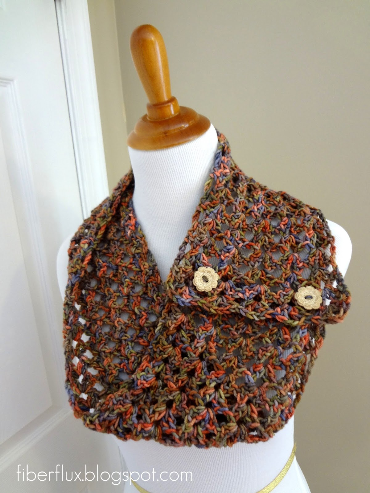 Crochet Wrap Patterns With Buttons ~ Dancox for .