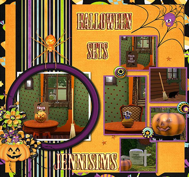 Christmas Decorations On Sims 3: My Sims 3 Blog: Halloween Decor By Jennifer