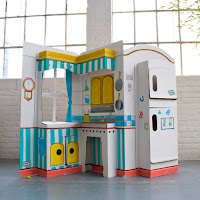 Build A Dream Playhouses Kitchen