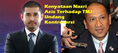 Isu TMJ vs Nazri Aziz